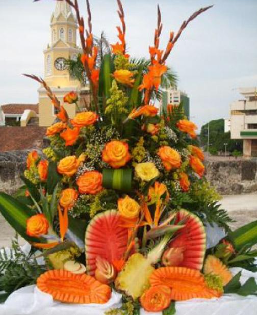 Decoraci n para el buffet decor eventos de cartagena - Decoracion buffet ...
