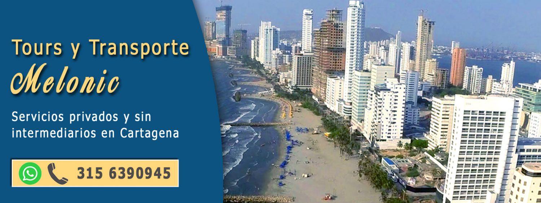 Tours y transporte en Cartagena de Indias