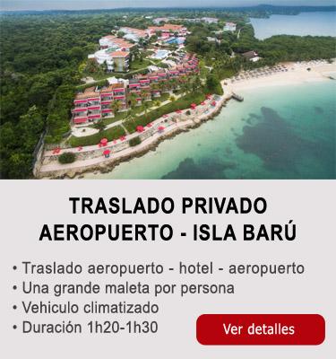 Traslado aeropuerto-Isla Baru