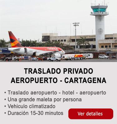 Traslado aeropuerto-Cartagena
