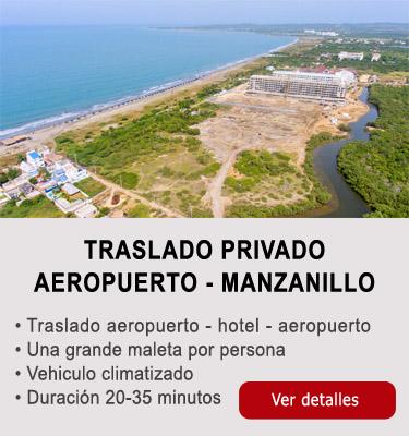 Traslado aeropuerto-Manzanillo del Mar