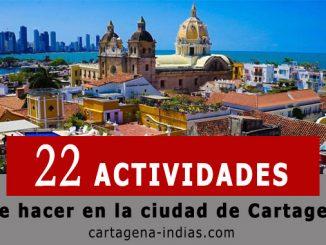 actividades que hacer en Cartagena
