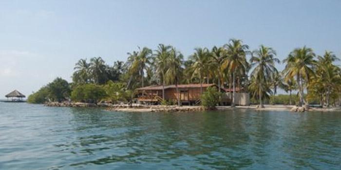 Isla Boquerón islas de San Bernardo