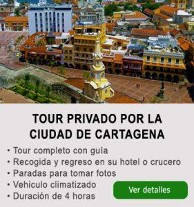 Tours ciudad de Cartagena