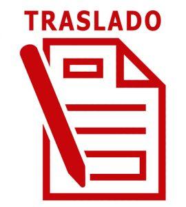 Formulario de traslado en Cartagena