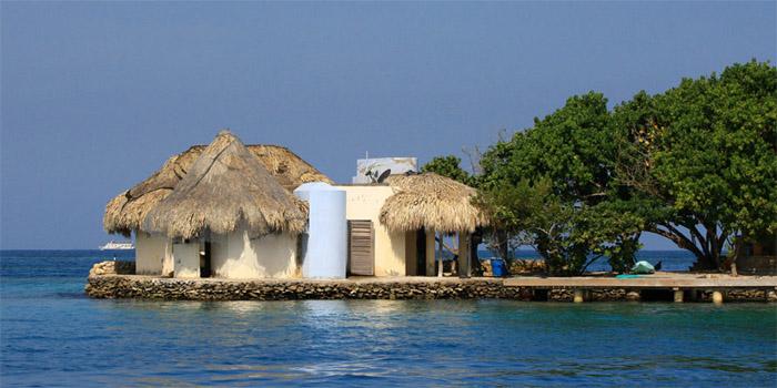 Isla Caguamo islas del Rosario