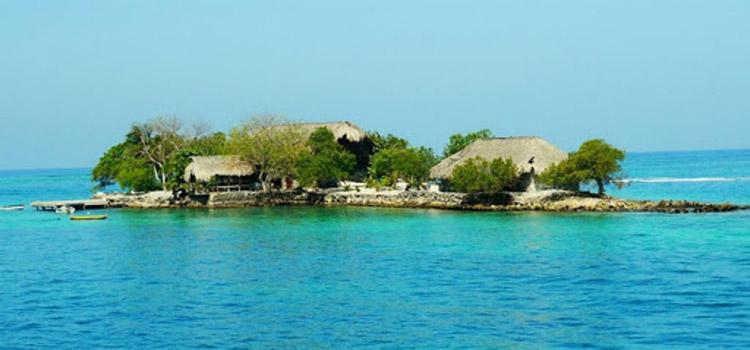 Isla Gloria islas del Rosario