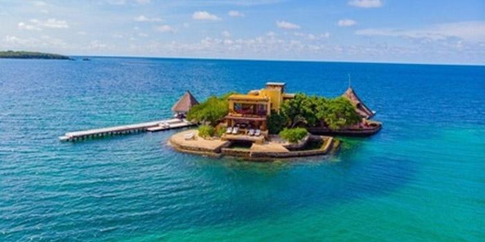 Isla el Peñón Islas del Rosario