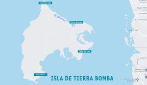 Mapa de Tierra Bomba