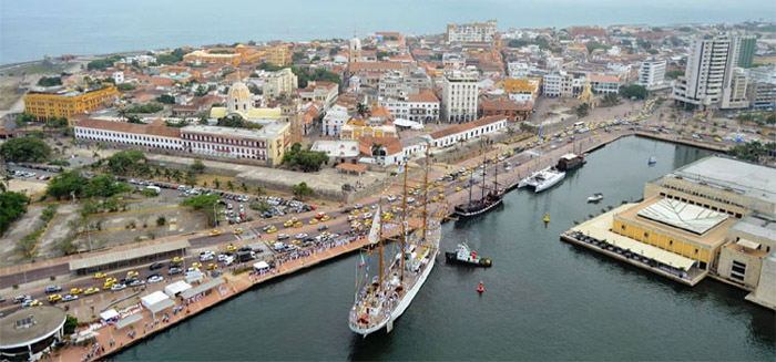 Muelle de los Pegasos Cartagena