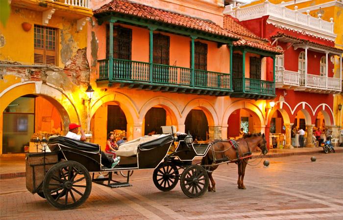 Paseo en coche Cartagena
