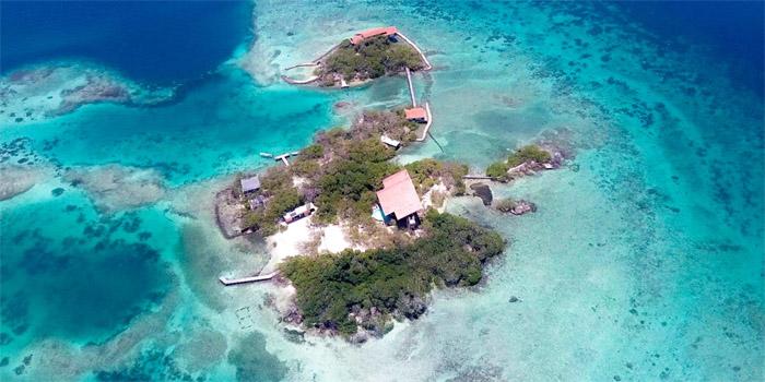 Isla Pavitos Islas del Rosario