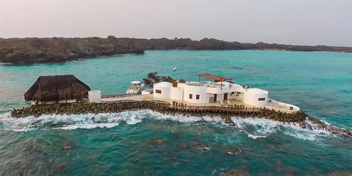 Isla Pelicano Islas del Rosario