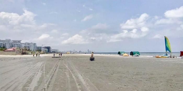 Playa La Boquilla Cartagena