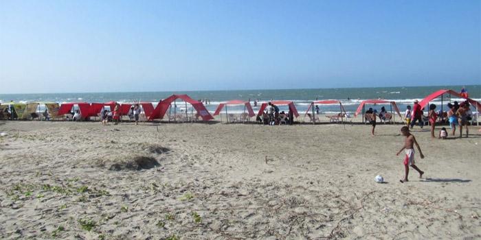 Playa El Cabrero Cartagena