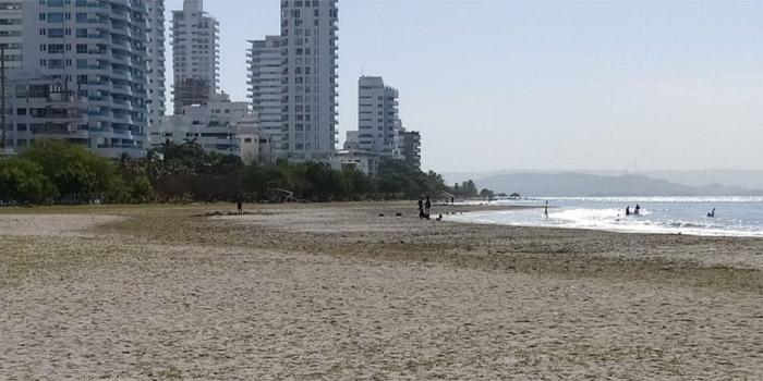 Playa de Castillogrande Cartagena