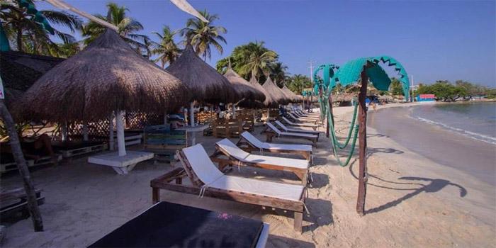 Playa Chiringuito Tierra Bomba