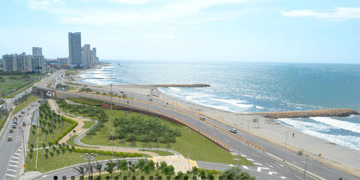 Playa de Crespo Cartagena