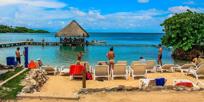 Playa isla del sol