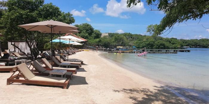 Playa de Islabel Islas del Rosario