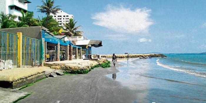 Playa El Laguito cartagena