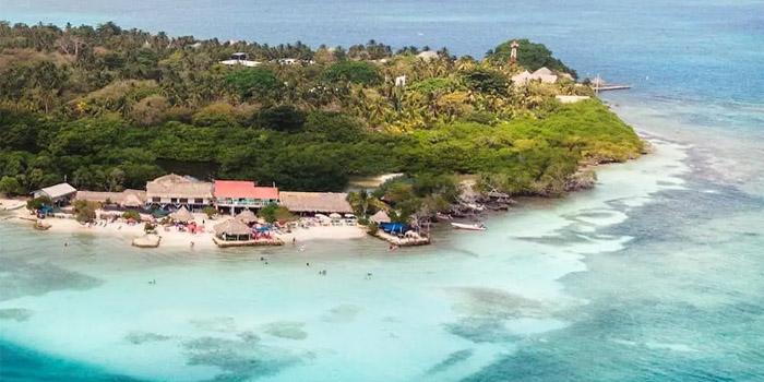 Playa Mucura Islas de San Bernardo
