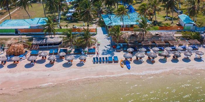Playa Palmarito Tierra Bomba