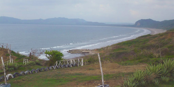 Playa Punta Canoa Cartagena