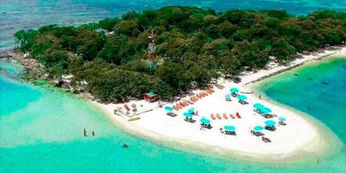 Playas islas del Rosario