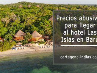 Precio de transporte hotel Las Islas en Baru