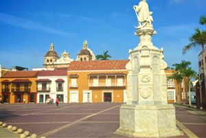 Plaza de la Aduana Cartagena