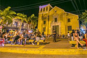 Plaza de la Trinidad Cartagena