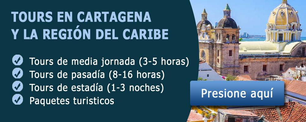 Tours en Cartagena y la región del Caribe