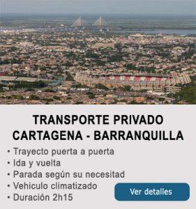 Transporte Cartagena y Barranquilla