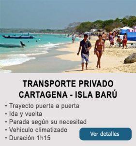 Transporte Cartagena y Baru