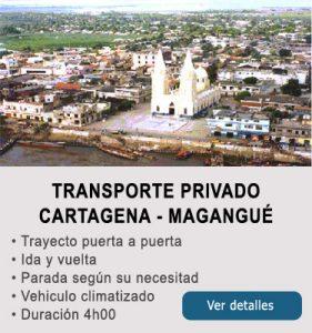 Transporte Cartagena y Magangué