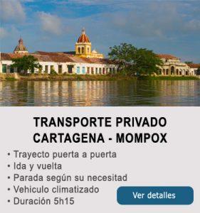 Transporte Cartagena y Mompox