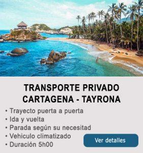 Transporte Cartagena y Tayrona