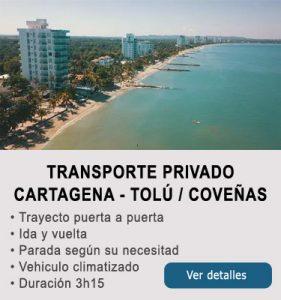 Transporte Cartagena y Tolu-Coveñas