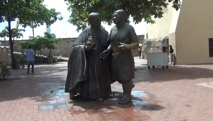 Estatua de San Pedro Claver