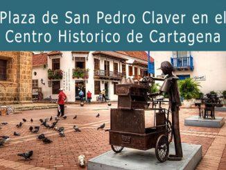 Plaza San Pedro Claver Cartagena