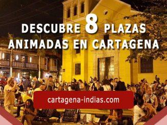 plazas animadas en Cartagena