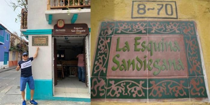 Esquina Sandiegana Cartagena