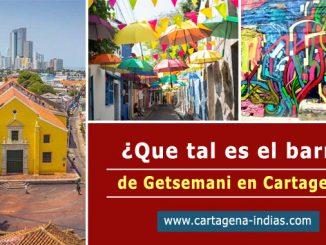 barrio de Getsemani en Cartagena