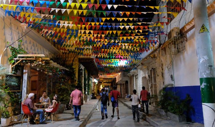 Barrio de Getsemani Cartagena