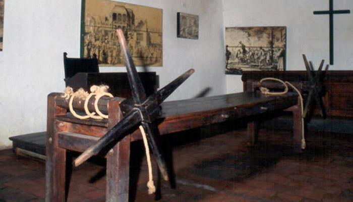 Tortura palacio inquisicion Cartagena