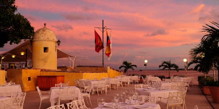 Atardecer club de pesca Cartagena